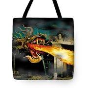 Barton The Mutant Salamander Tote Bag