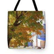 Bartram Orange Tote Bag