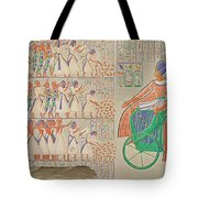 Bas-relief At Medynet-abou, Palace Tote Bag