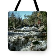 Base Of Ragged Falls Tote Bag
