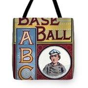 Baseball Abc Tote Bag by McLoughlin Bros