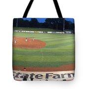 Baseball America's Past Time Tote Bag