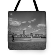 Baseball At Wrigley In The 1990s Tote Bag