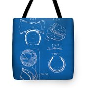 Baseball Construction Patent 2 - Blueprint Tote Bag