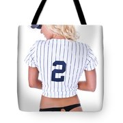 Baseball Girl 2 Tote Bag