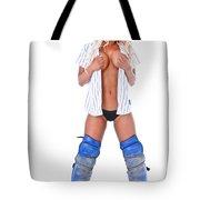 Baseball Girl Tote Bag