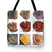 Baseball Glove Evolution Tote Bag