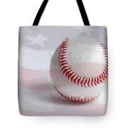 Baseball - Painterly Tote Bag by Heidi Smith