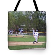 Baseball Pitcher The Delivery Tote Bag