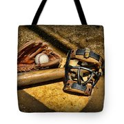 Baseball Play Ball Tote Bag by Paul Ward