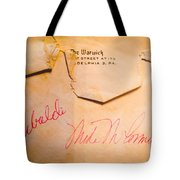 Baseball Treasures Tote Bag