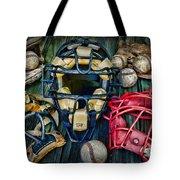 Baseball Vintage Gear Tote Bag