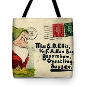 Bashful Letter Tote Bag