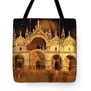 Basilica Di San Marco Tote Bag by George Buxbaum