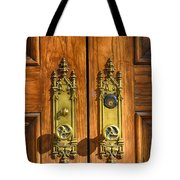 Basilica Door Knobs Tote Bag