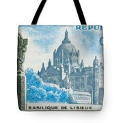 Basilica Lisieux Tote Bag