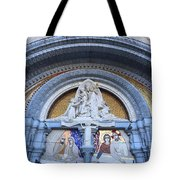 Basilica Of Our Lady Of Lourdes Tote Bag