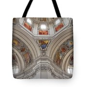Basilica Of St. Peter In Salzburg Tote Bag