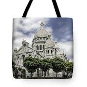 Basilica Of The Sacred Heart Paris France Tote Bag