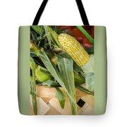Basket Farmers Market Corn Tote Bag