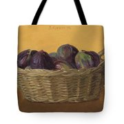 Basket Filled With Figs Tote Bag