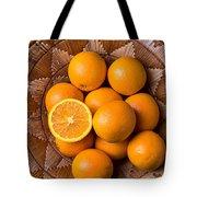 Basket Full Of Oranges Tote Bag