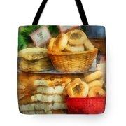 Basket Of Bialys Tote Bag