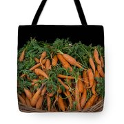 Basket Of Carrots Tote Bag