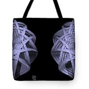Basket Of Hyperbolae - Stereogram Tote Bag