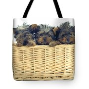 Basket Of Yorkies Tote Bag