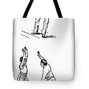 Basketball, 1893 Tote Bag