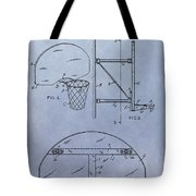 Basketball Hoop Tote Bag