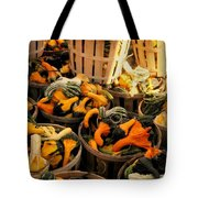 Baskets Of Gourds Tote Bag