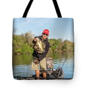 Bass Caught In Austin Texas Tote Bag