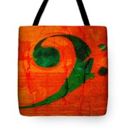 Bass Distressed Tote Bag