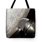 Bass Drum And Mic Tote Bag