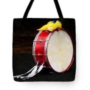 Bass Drum At Parade Tote Bag