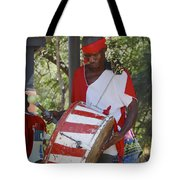 Bass Drummer Labadee Haiti Tote Bag