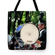 Bass Drums On Parade Tote Bag