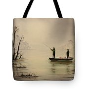Bass Fishing In Florida Tote Bag
