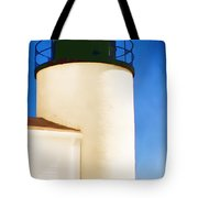 Bass Harbor Head Lighthouse Maine Tote Bag