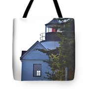 Bass Harbor Headlight Tote Bag