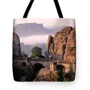 Bastei, Saxonian Switzerland National Tote Bag