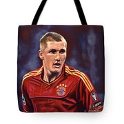 Bastian Schweinsteiger Tote Bag