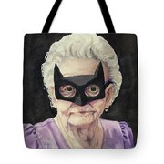 Bat Gran Tote Bag