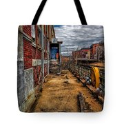 Bates Mill Office Canal Street Tote Bag