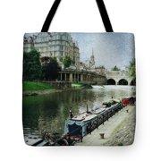 Bath Canal Tote Bag