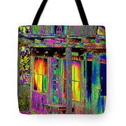 Bath House Pop Art Tote Bag