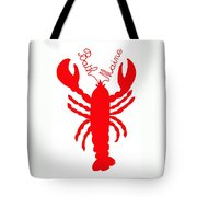 Bath Maine Lobster With Feelers Tote Bag