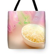 Bath Sea Salts Tote Bag